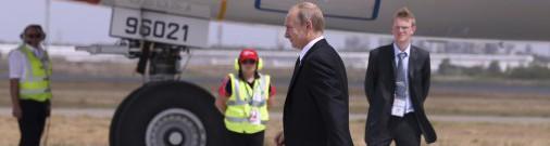Самолет Путина утром пролетел над Эстонией