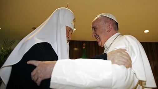 Глава РПЦ впервые в истории встретился с Папой Римским: Наконец-то, мы братья