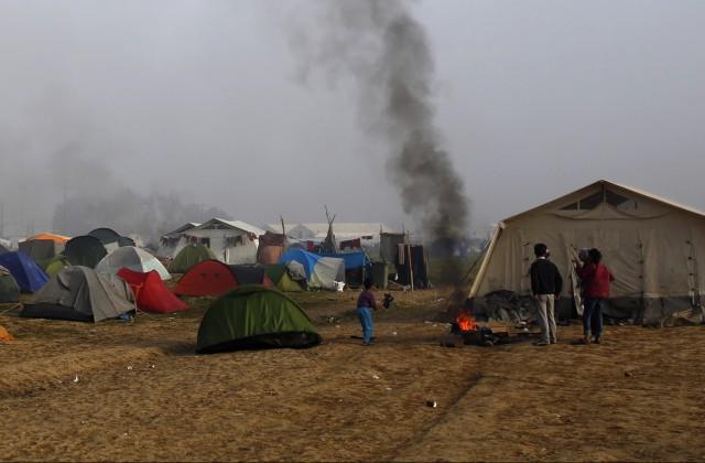 На греческом острове подрались мигранты