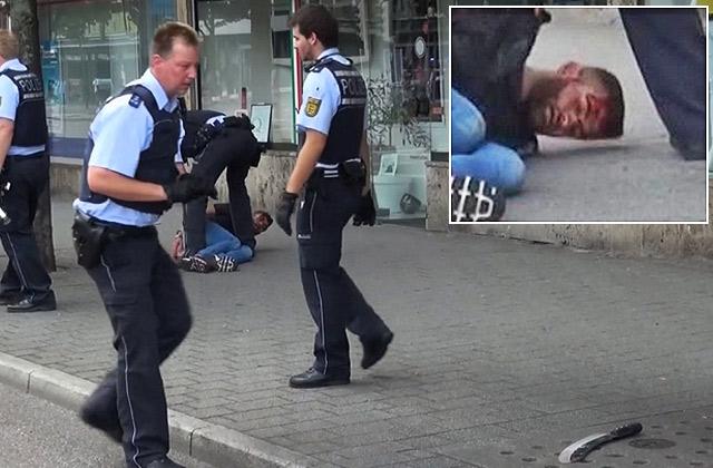 Милиция несчитает мигранта смачете террористом