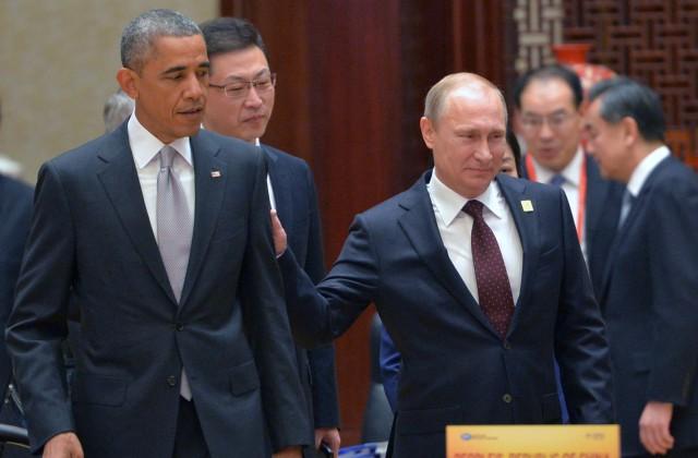 Песков поведал, как Путин поздравил Обаму сюбилеем