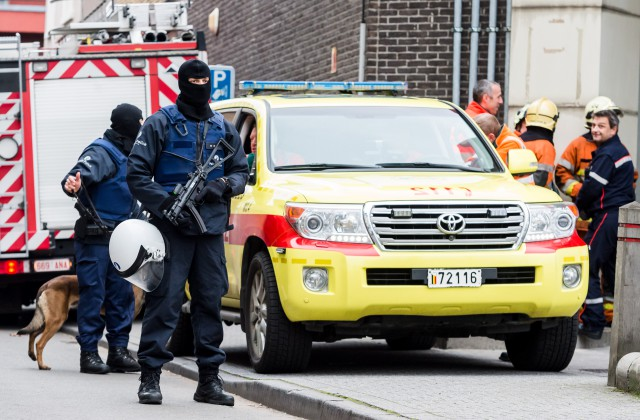 Сообщение обомбах всамолетах над Брюсселем оказалось ложным
