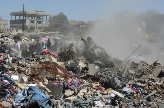 Human Rights Watch обвинила Москву иДамаск вприменении зажигательного оружия