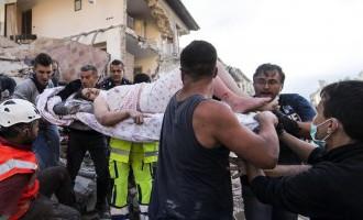 Землетрясение в Италии: число жертв достигло 120