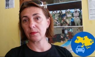 Putin h...lo, или Откровенное интервью с диким волонтером Оксаной-Феей в зоне АТО