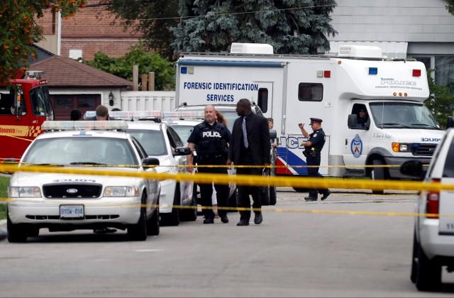 ВТоронто три человека застрелены изарбалета