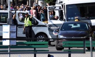 Очевидец: в сумке около вокзала был предмет, напоминавший бомбу