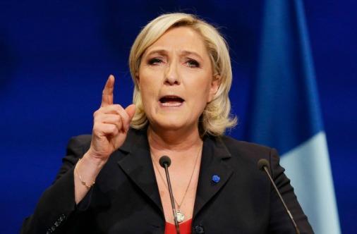 Марин Ле Пен - дама очень решительная
