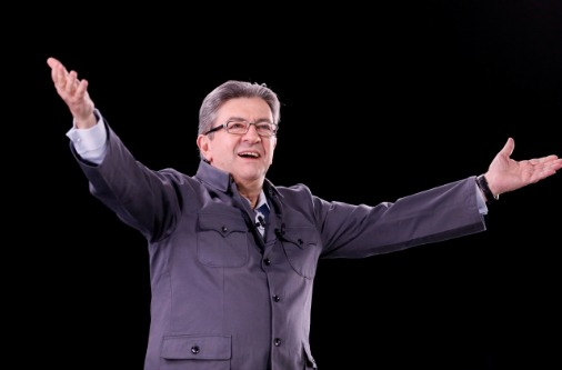 Жан-Люк Меланшон, кандидат в президенты Франции