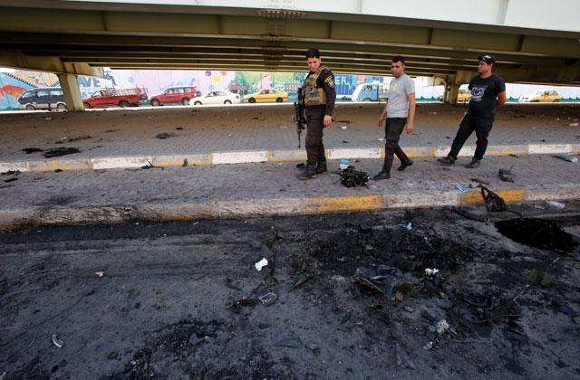 При теракте вБагдаде погибли 40 человек
