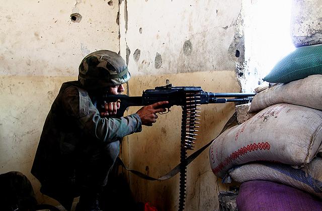 Милиция безопасности Латвии задержала гражданина, который воевал вСирии