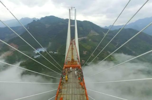 КНР построил новый самый высокий вмире мост