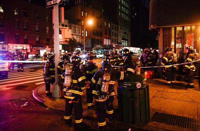 ВНью-Йорке прогремел мощнейший взрыв наМанхэттене, есть погибшие