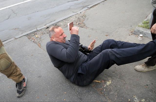 Упосольства РФ вКиеве начались столкновения