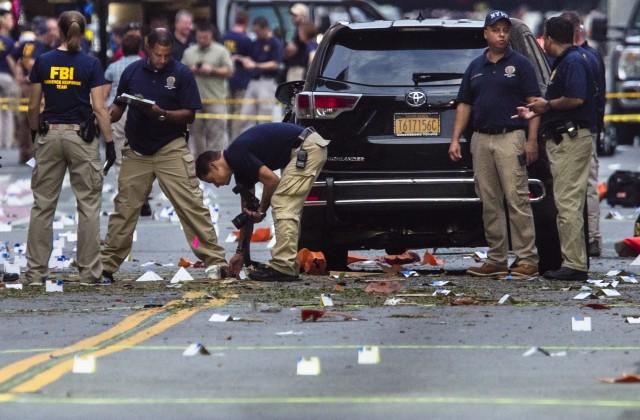 Сначала взрыв вНью-Джерси, потом вНью-Йорке: милиция испецслужбы ищут связь