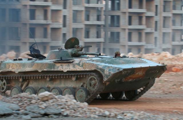 Террористы пытаются выбить армию Асада изисторической части Алеппо