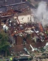 В Нью-Йорке взрывом уничтожен жилой дом