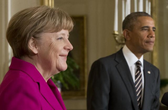 Меркель иОбама призвали уважать перемирие вДонбассе