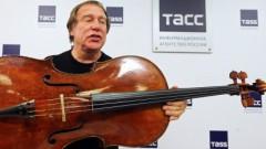 Друг Путина показал свою виолончель за 12 млн долларов