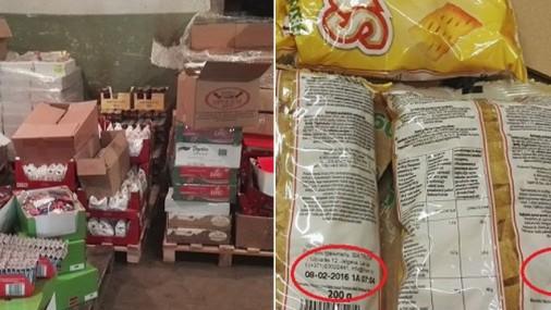 На складе - 10 тонн «устаревших» сладостей: поставляли во все сети