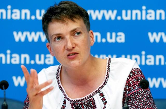 Савченко назвала поездки в Российскую Федерацию бесполезными для украинцев