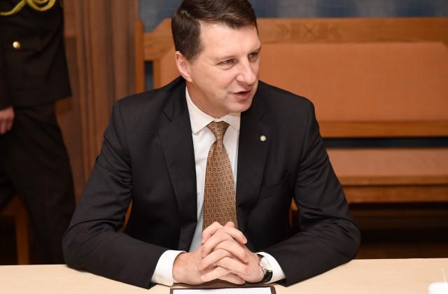 Президенты Татарстана иЛатвии встретились вРижском замке