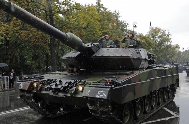 Польша может расположить вЛатвии танковую роту