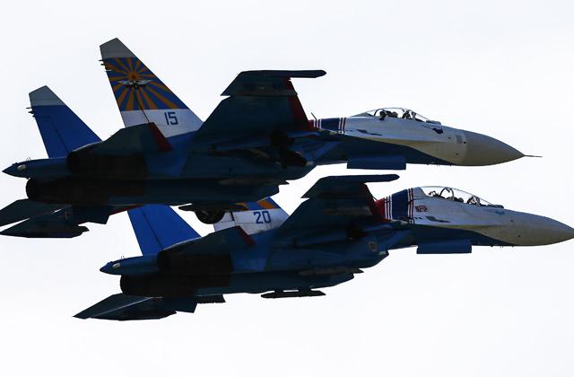 Русский военный самолет увидели уграницы сЛатвией