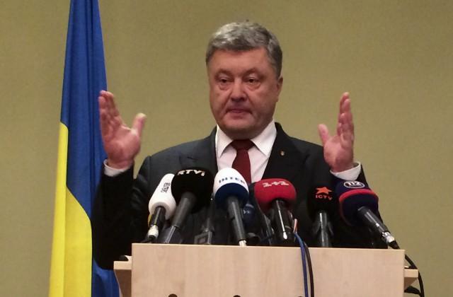 Порошенко ожидает, что НАТО продолжит давить на Российскую Федерацию