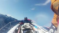 Покорить океан на вёсельной лодке. История двух латвийцев