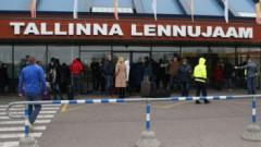 Таллиннскому аэропорту угрожал взрывом отбывающий срок в тюрьме мужчина