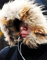 В Видземе и Латгале выпал первый снег (видео)