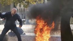 В даугавпилском парке мужчина совершил акт самосожжения