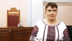 Савченко в Москве в крикнула: Слава Украине, героям слава!