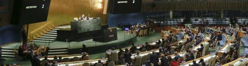 Россию не избрали в совет по правам человека ООН