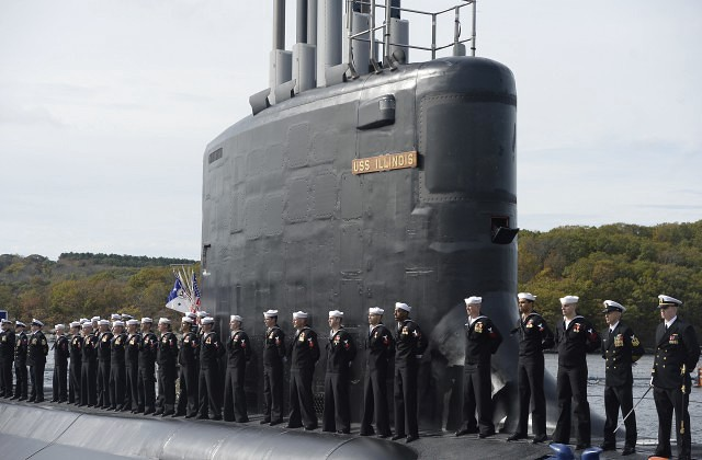ВМС США ввели встрой новейшую атомную подлодку «Иллинойс»