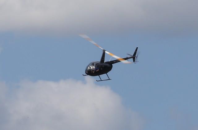 Видео сместа падения вертолета вСочи появилось вweb-сети интернет