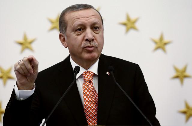 Эрдоган раскритиковал Запад иЕС заотношение кТурции