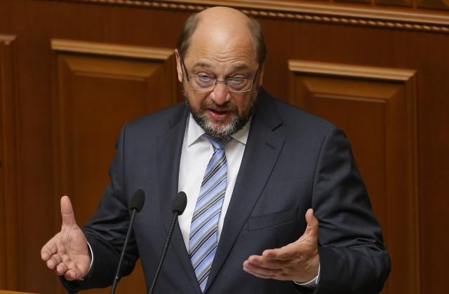 Руководитель Европарламента Шульц желает баллотироваться напост канцлера Германии