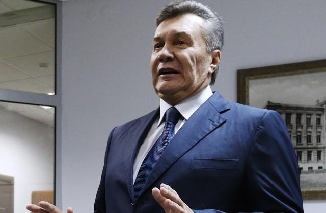 Янукович поведал окатастрофе, которая случиласьбы, останься он вгосударстве Украина