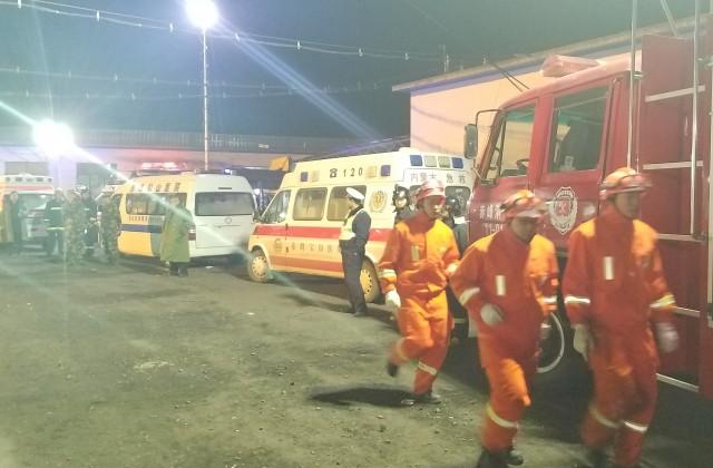 Жертвами взрыва нашахте вКитайской республике стали неменее 30 человек