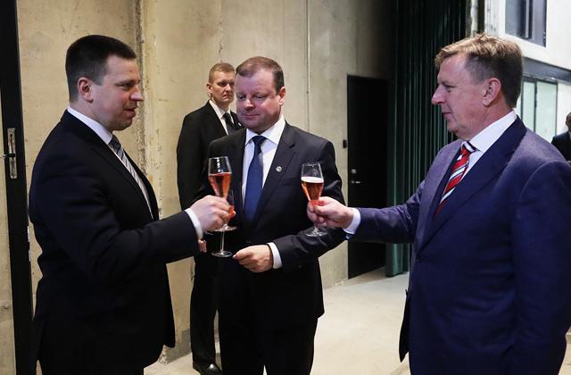 Премьеры стран Балтии подписали соглашение оRail Baltica