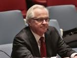 В ООН простились с Виталием Чуркиным