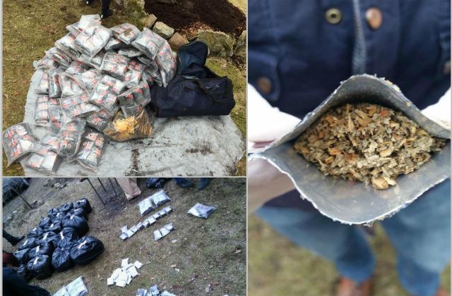 Милиция отыскала надаче вклумбе 40кг«спайсов»