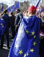 Тысячи человек митинговали в Лондоне против Brexit