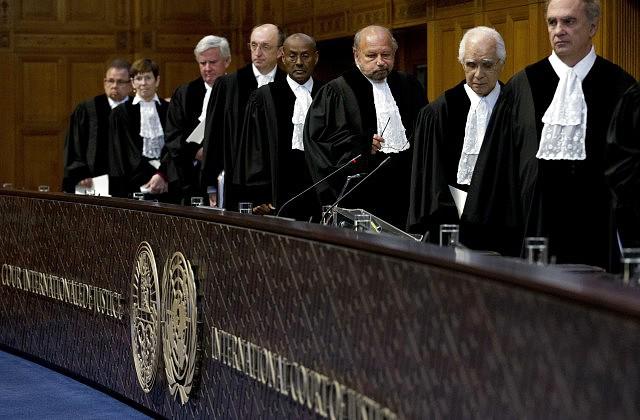 Что приняли решение  насуде вГааге— Украина против Российской Федерации