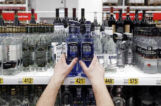 Минздрав предложил указывать набутылках предельную дозу водки