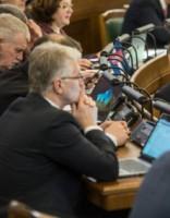 Сейм предлагает ввести процедуру импичмента президента