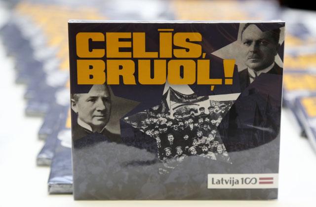"""CD с записью латгальских песень """"Celīs, bruoļ!"""" (""""Вставай, брат!"""")"""