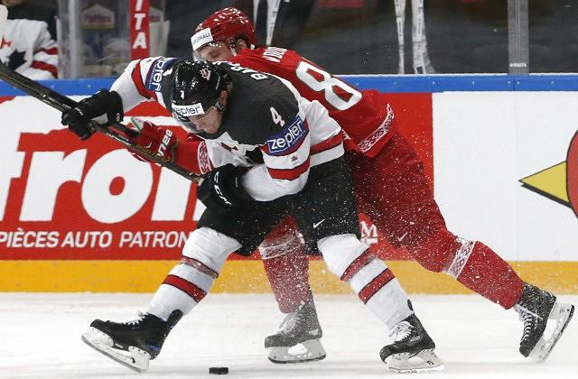 Канада разгромила 6:0 республику Беларусь начемпионате мира похоккею